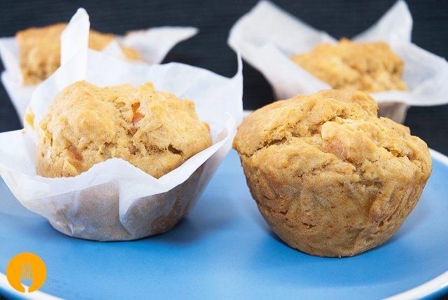 Muffins de gambas