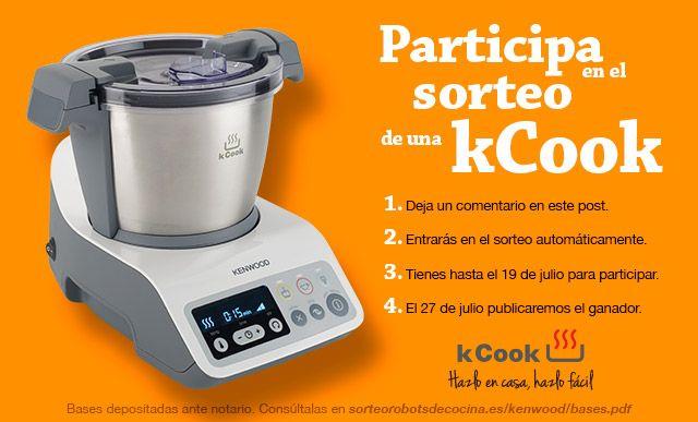 Participa en el sorteo de un kCook. Entra y participa!