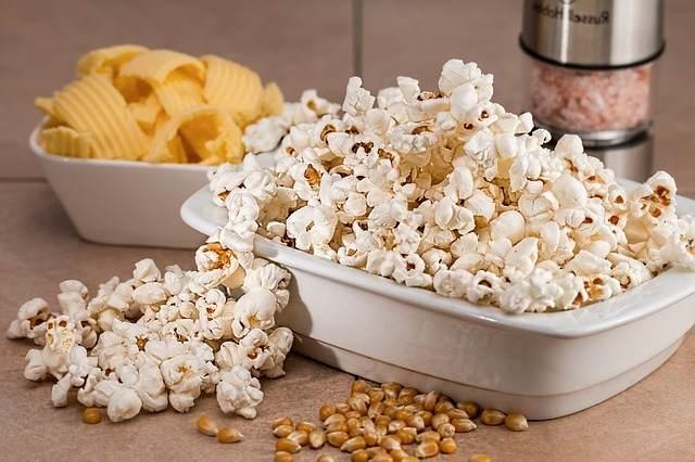 Los beneficios de comer palomitas de maíz
