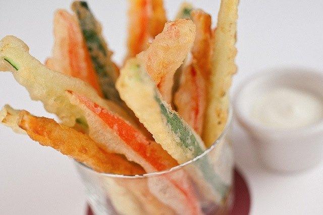 como hacer una buena tempura
