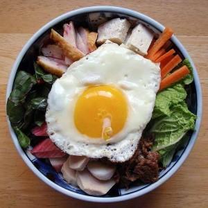 Cómo freír un huevo