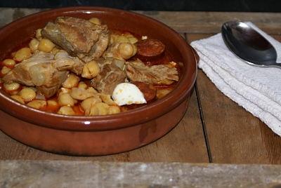 Garbanzos con costilla recetas de cocina casera f ciles - Garbanzos con costillas ...