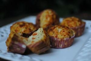 Pizza Muffins caseros