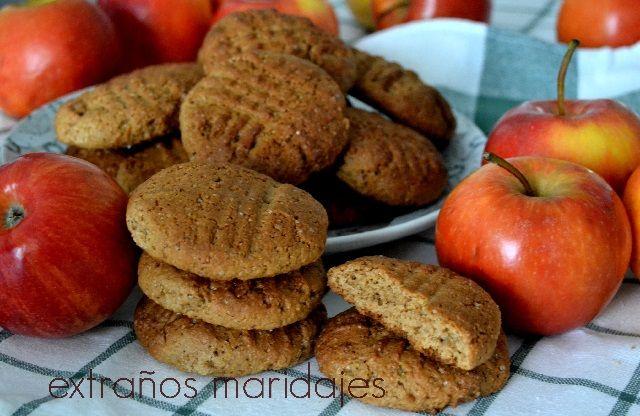 Galletas de Manzana - Recetas de galletas