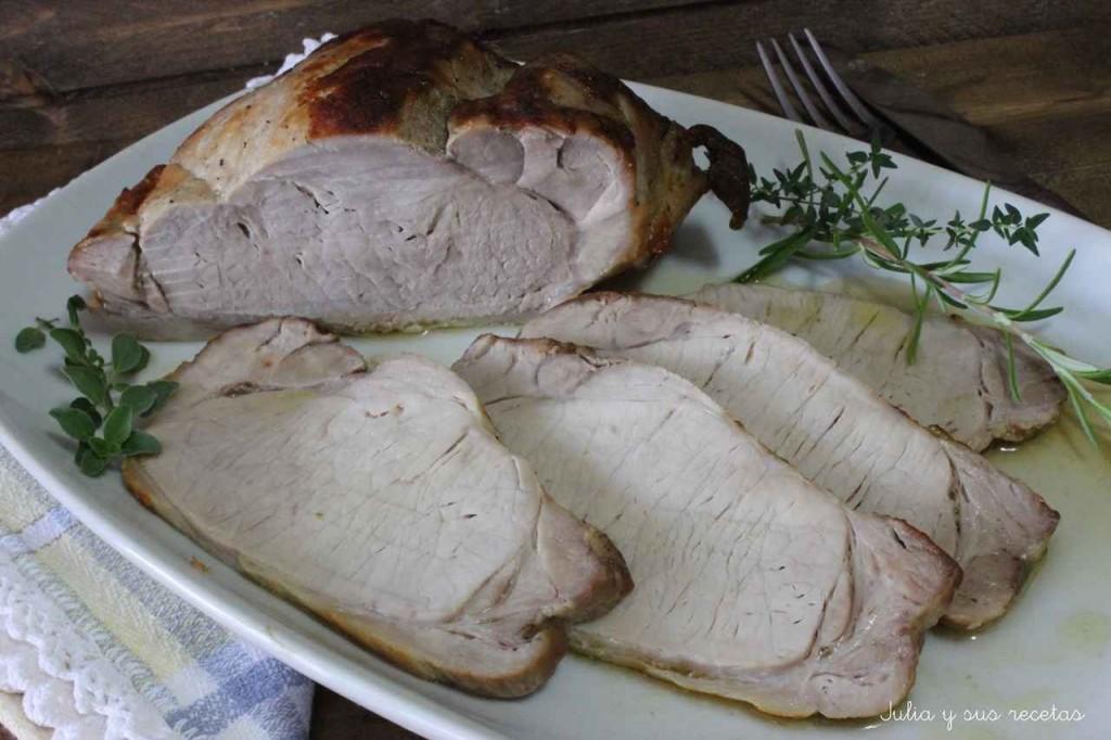Lomo de Cerdo a las Finas Hierbas