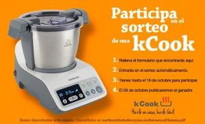 Segundo Sorteo de un Robot de Cocina kCook