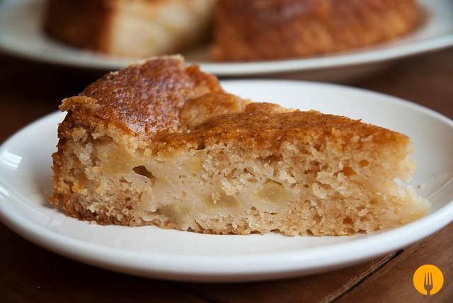 Bizcocho de Manzana Sin Gluten para Celíacos y Veganos