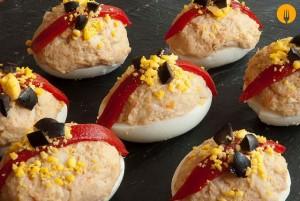 Huevos Rellenos con KCook