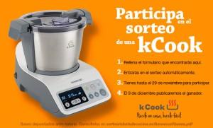 Tercer Sorteo de un Robot de Cocina kCook