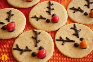 Galletas para hacer con los niños en Navidad