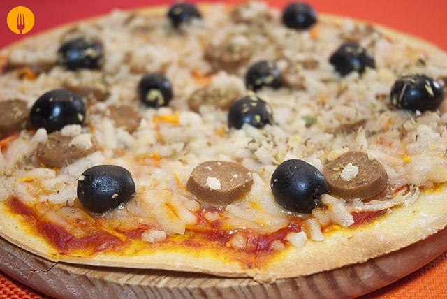 Ingredientes masa pizza sin harina