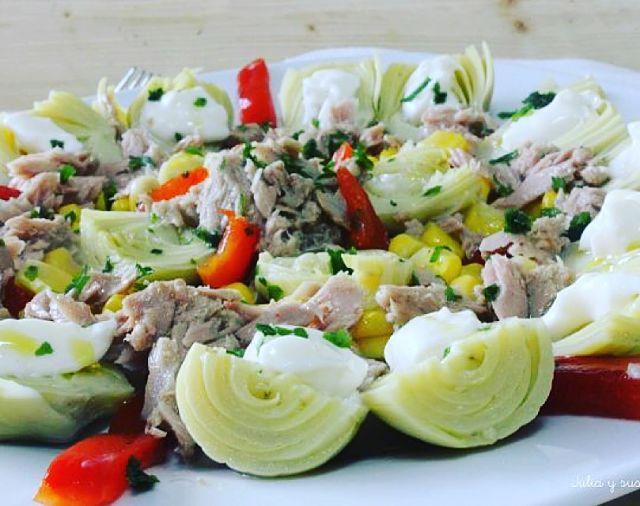 Recetas de ensaladas recetas de cocina casera recetas for Ideas ensaladas originales