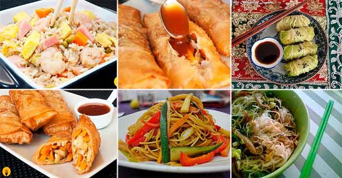 Comida China o Asiática. Recetas fáciles