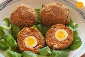 Huevos de Codorniz al estilo irlandés