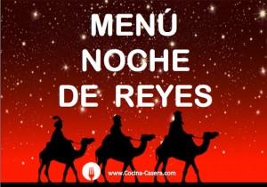 Menú para la Noche de Reyes