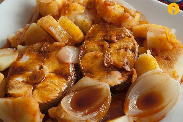 Merluza a la gallega recetas de cocina casera recetas for La cocina casera