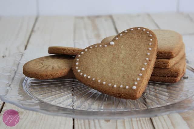 Galletas de mantequilla con almendra - Recetas de galletas