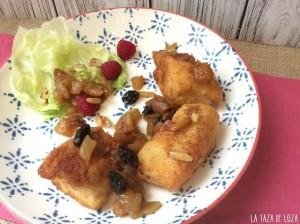 Pollo con Salsa Chutney de Frutas