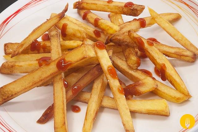 Cómo hacer patatas fritas