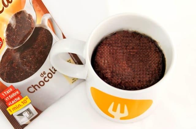 Mug Cake de chocolate con Dr. Oetker