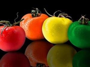 Colorterapia, alimentos y colores