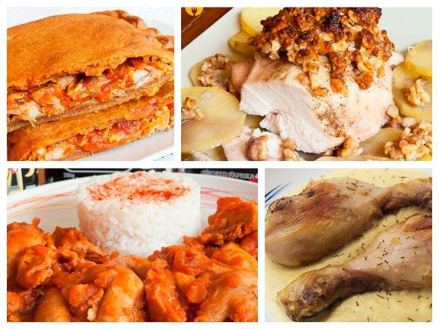 Recetas sabrosas con pollo