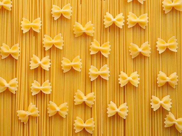 Pasta: tipos y variedades