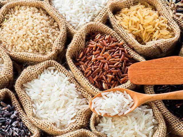 El arroz: propiedades y tipos