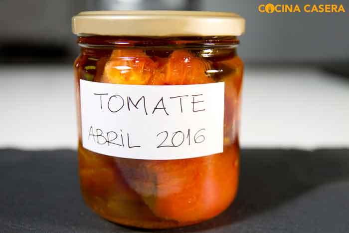 Cómo hacer conserva de tomate natural