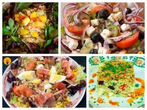Recetas caseras de ensaladas muy originales
