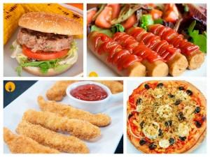 Recetas caseras de fast food