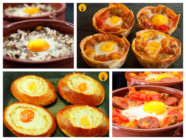 Recetas originales con huevos