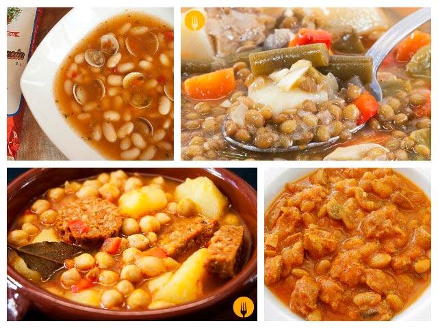 Recetas caseras para cocinar legumbres