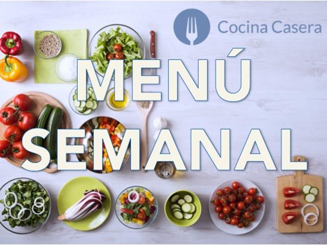 menu semanal