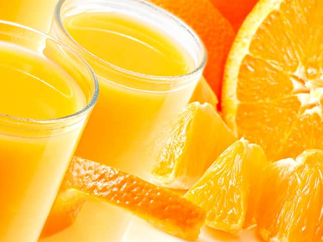 Trucos con naranjas