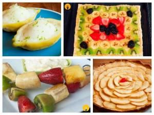 Postres irresistibles con frutas