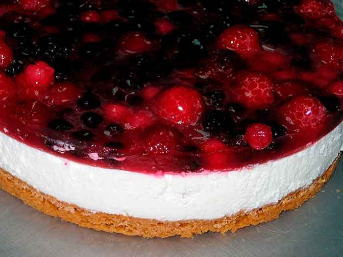 Tarta de queso en Thermomix