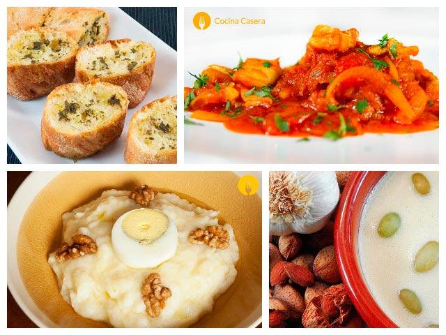 4 recetas riquísimas con ajo