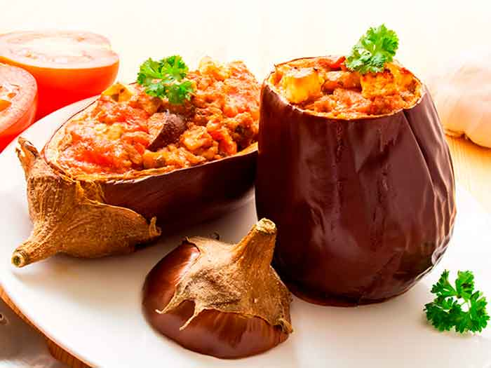 Berenjenas rellenas f ciles y r pidas recetas de cocina for Cocina berenjenas rellenas