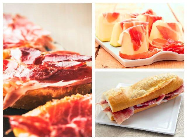 3 ideas deliciosas con jamón