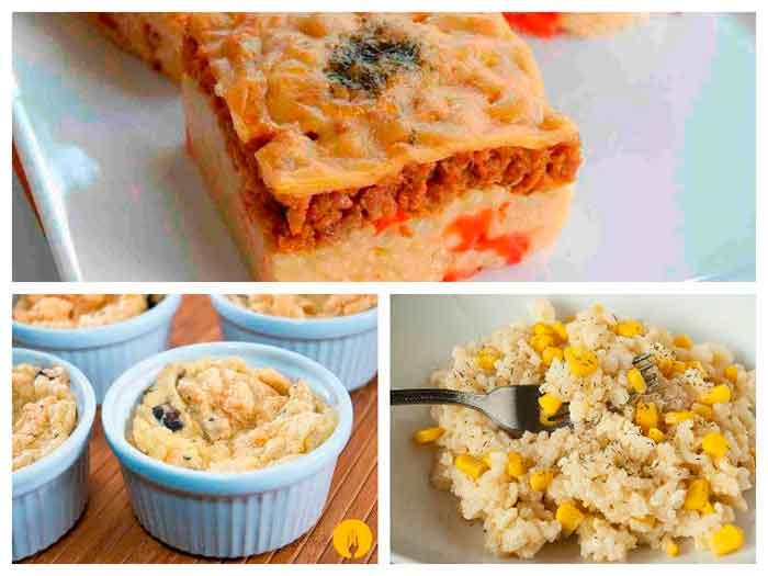 3 recetas originales con arroz