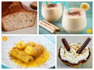 Recetas deliciosas con plátano