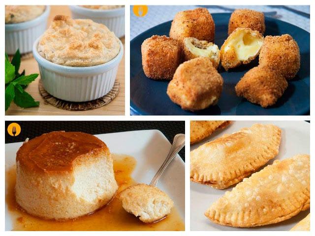 Recetas con queso