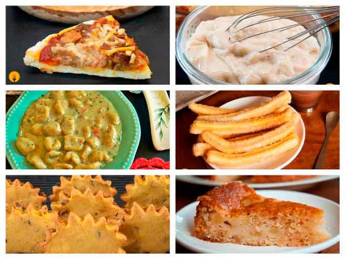 Recetas sin gluten y para celíacos