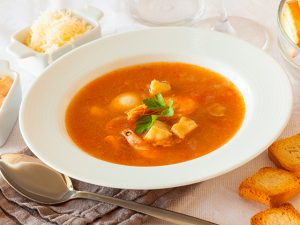 Sopa de pescado en Thermomix