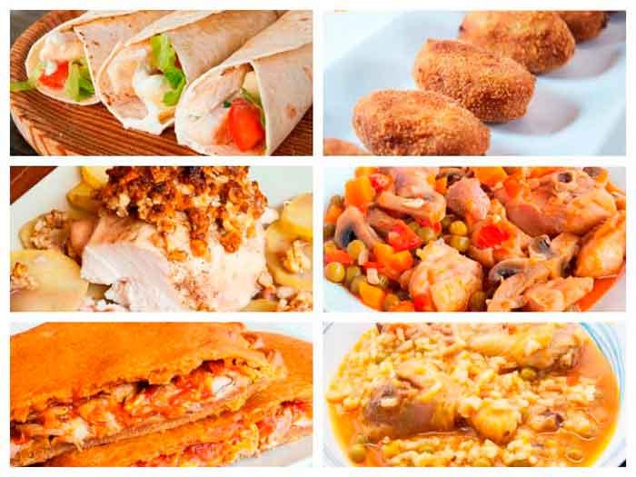 8 recetas para amantes del pollo