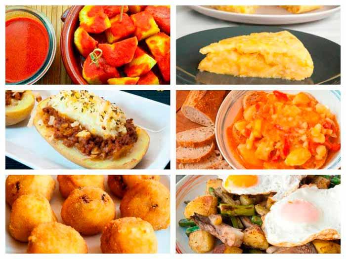 Las mejores recetas con patatas