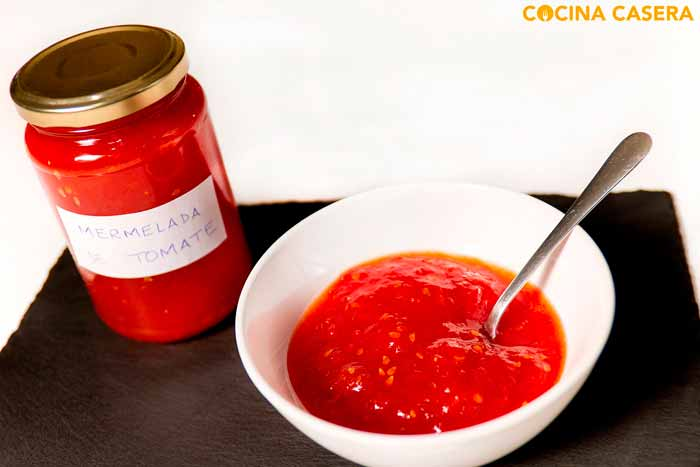 Mermelada de Tomate con Cooking Chef de Kenwood