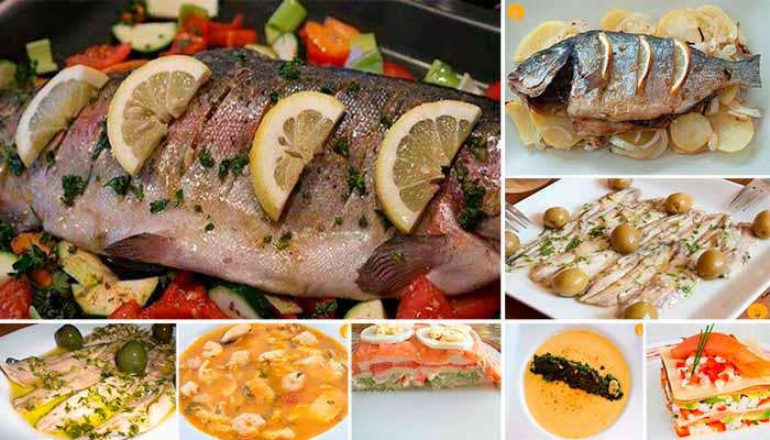8 platos de Pescado irresistibles