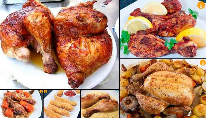 Locos por el Pollo: 5 recetas de lujo!